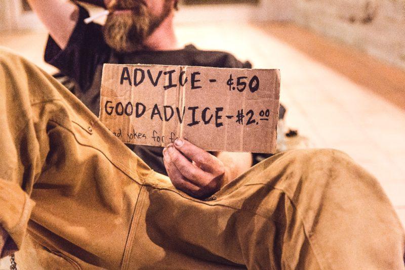 Запись объявление совет 50 центов хороший совет 2 доллара