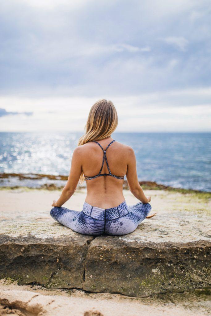 Осознанность медитирую